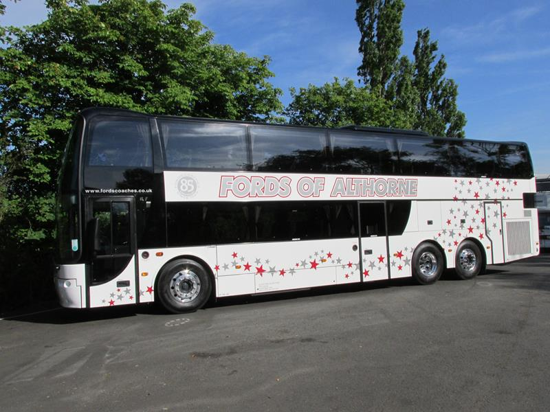 The New 77 Seater Executive Twin Deck Coach